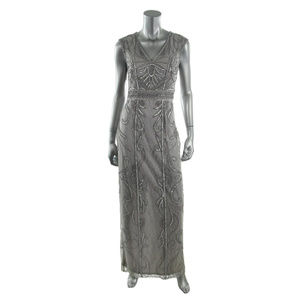 Sue Wong 8429 Womens Lace Beaded Gown SIZE 2 #181